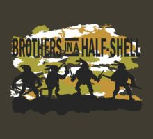 Brothers in a Half-Shell (for Dark colors) by pixhunter