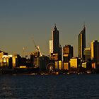 Perth at Sunset by Gerrart