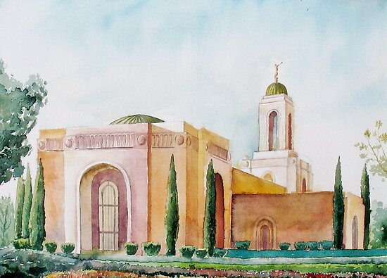 Newport Beach Temple by matt harward
