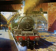 Jubilee 4-6-0 at Liverpool, Lime Street by Mike Jeffries
