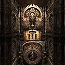 Infernal Steampunk Machine #4 phone cases by Steve Crompton