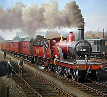 Midland Railway Single 1896 by Mike Jeffries