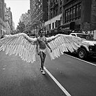 Gay Pride NYC 2010 - Angel Wings by Robert Ullmann