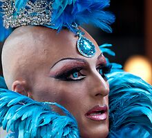 Drag Queen, Gay Pride NYC, 2011 2 by Robert Ullmann
