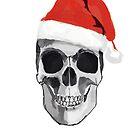Santa Skull by Burgernator