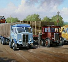 Max's transport cafe. by Mike Jeffries