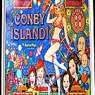 Coney Island iPhone Case1 by andytechie