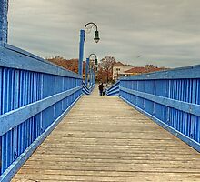 On the blue bridge by henuly1