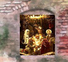 Nativity by Gilberte