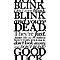 Doctor Who - Don't Blink - White by heavenlygeekdom