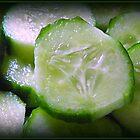 Cucumber Slice by LisaMarie Miranda