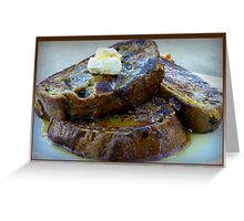 Sweet Potato French Toast Greeting Card