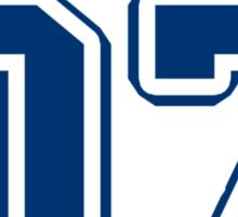Team TARDIS: 07 Sticker