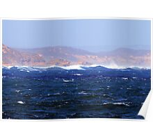 Turbulant Waters Poster