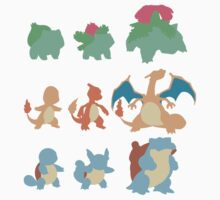 Evolution of Pokemon Kids Clothes
