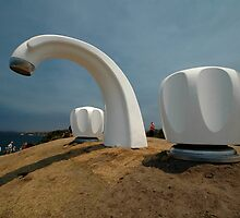 Big Tap @ Sculptures By The Sea, Australia 2011 by muz2142