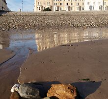 LLandudno at low tide by kalaryder