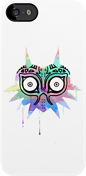 Watercolor's Mask by Nile  Clothing