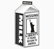 Missing Liberty Milk Carton by liberteed