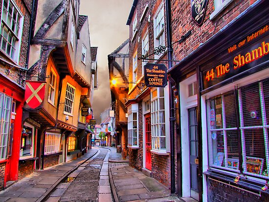 44 The Shambles York - HDR by Colin J Williams Photography