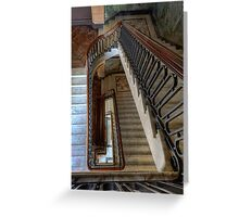 Masonic Memorial Temple Staircase • Brisbane • Queensland Greeting Card