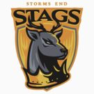 Go Stags! - STICKER by WinterArtwork