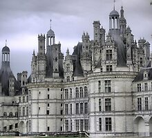 The Sentinels of Chambord ( 1 ) by Larry Lingard-Davis