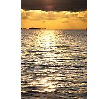 Sunset near Lysekil Photographic Print