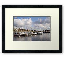 South Koster harbour Framed Print