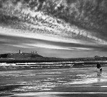 On Embleton Sands by Rachael Talibart