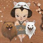 cat & dogs by fluffymafi