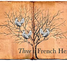 Three French Hens by babibell