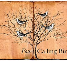 Four Calling Birds by Claire Elford