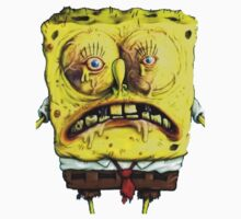 Close up Spongebob by ryan1815