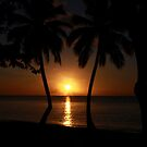 Caribbean Sunset by John Dalkin