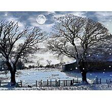 A Christmas Wish Photographic Print