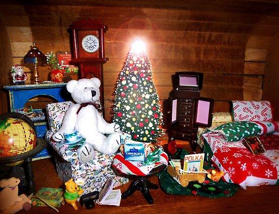 Rupert Reconsiders Spending Christmas Night Alone by Nadya Johnson