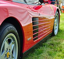 Ferrari Testarossa by Steve James