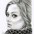 Adele Portrait by Emily Hitchcock