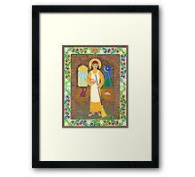 St. Martha Icon Framed Print