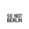 So Not Berlin - Logo One by sonotberlin