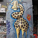 Tangled Giraffe by axemangraphics