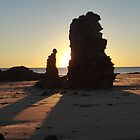 Sunset at Reddell Beach - Broome, Western Australia by Dan & Emma Monceaux