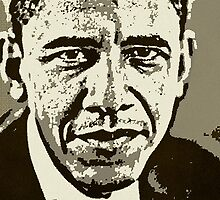 BARACK OBAMA-PRESIDENT by OTIS PORRITT