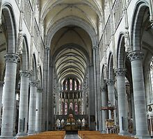 st martins cathedral ypres by Penny Rumbelow