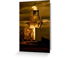 The Keeper - Richmond River Lighthouse Greeting Card