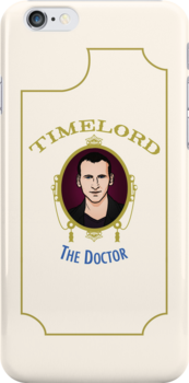 Dr. Who - Timelord - Ninth Doctor (Variant) by huckblade