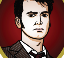 Dr. Who - Timelord - Tenth Doctor (Variant) Sticker