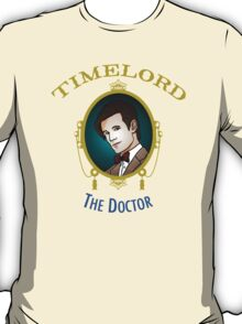 Dr. Who - Timelord - Eleventh Doctor (Variant) T-Shirt