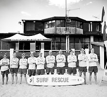 South Melbourne Life Saving Club by Ruben D. Mascaro